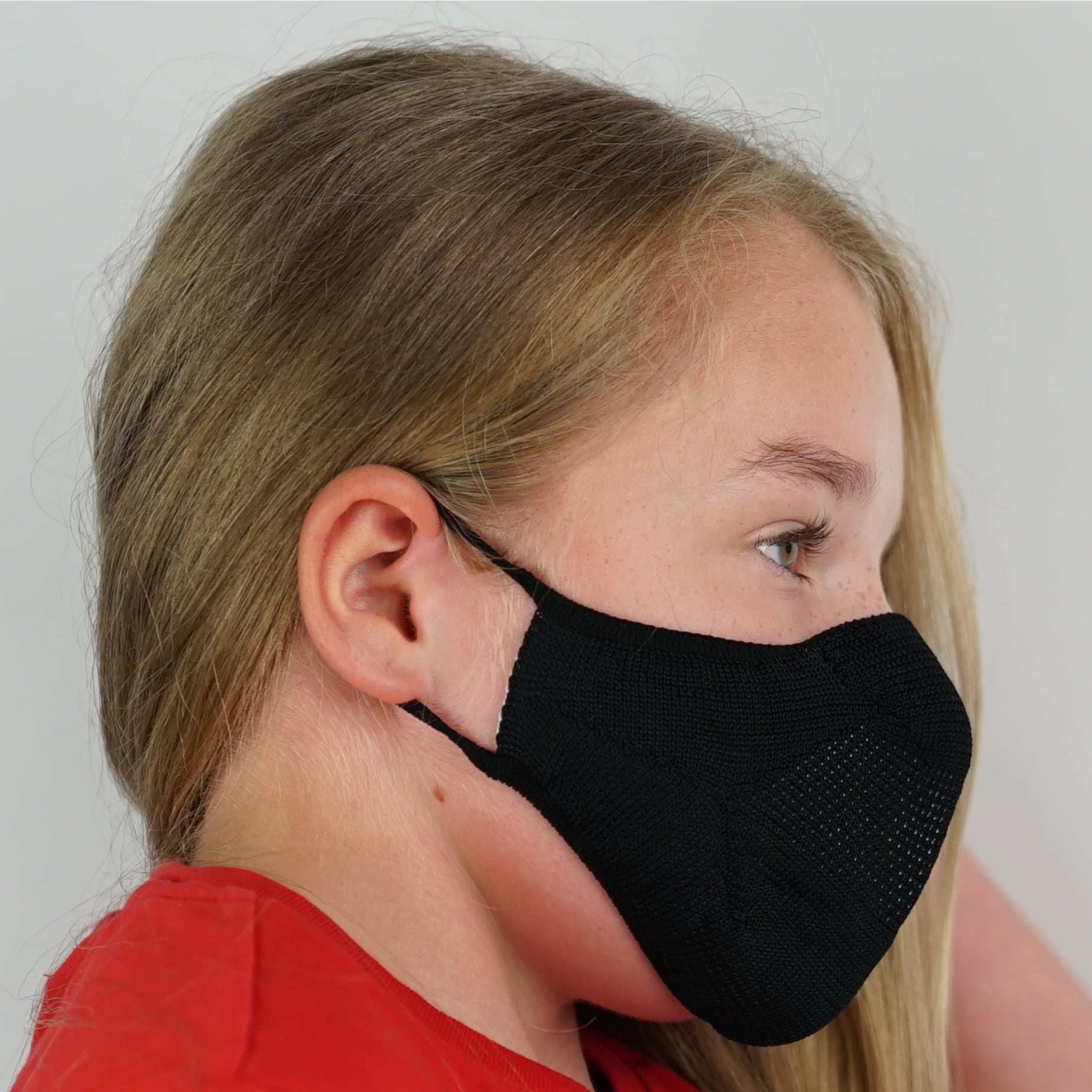 Kids Face Mask - Black