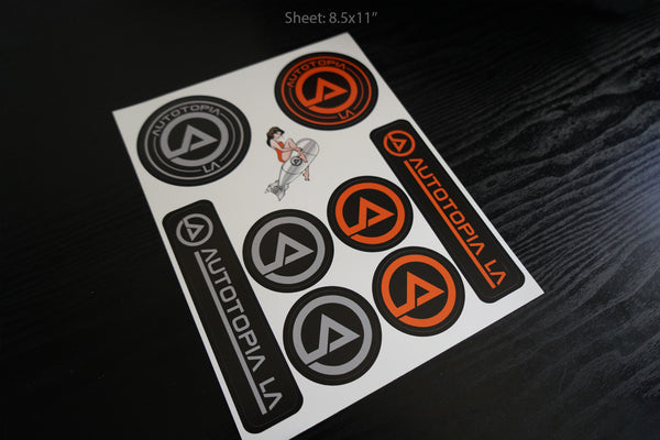 Sticker Pack // Autotopia LA