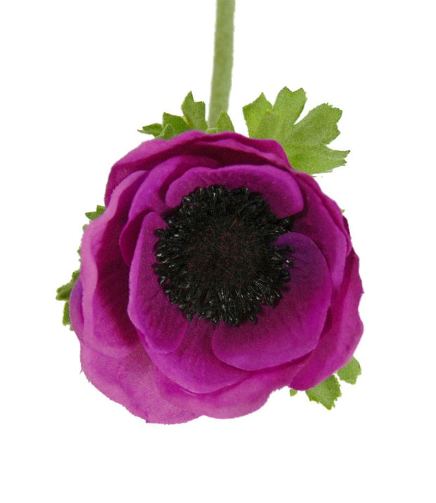 Silk Anemone Wedding Flower Sample