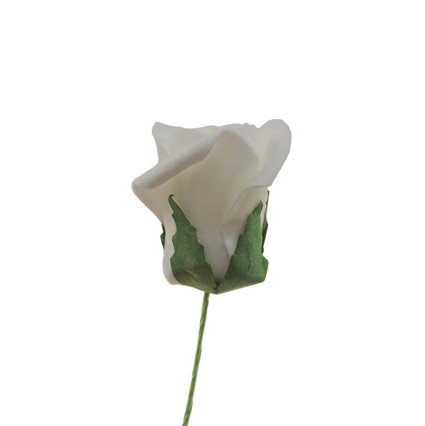 Bud Foam Rose Single Wedding Flower Sample