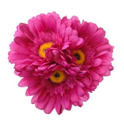 Silk Cerise Pink Gerbera Young Bridesmaids Wedding Posy