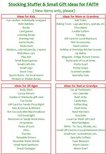 Support FAITH Food Pantry  | Stocking Stuffer Wish List