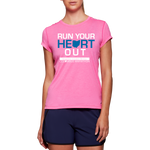 ASICS Women's Run Your Heart Out Tech Tee