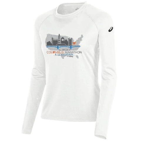 "Official 2020 ASICS Women's ""In Training"" Tech Long Sleeve Tee"