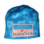 Columbus Marathon Fleece Lined Beanie (Blue)