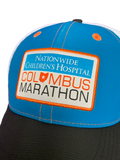 Columbus Marathon Blue/Orange Trucker Hat