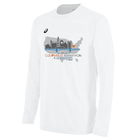 "Official 2020 ASICS Men's ""In Training"" Tech Long Sleeve Tee"