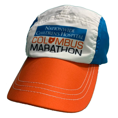 Columbus Marathon Blue/Orange Race Hat