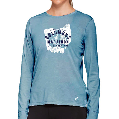 ASICS Women's Buckeye State Long Sleeve Tech Tee