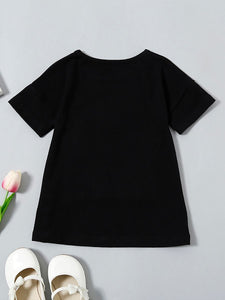 NOELLE Modern Black Baby Girl Dress
