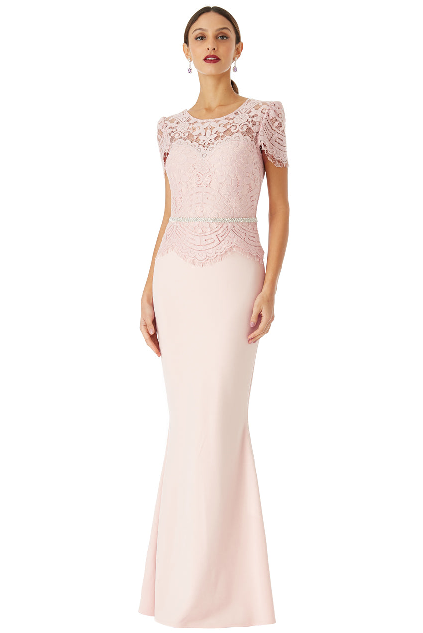 VERONA Evening Gown in pink