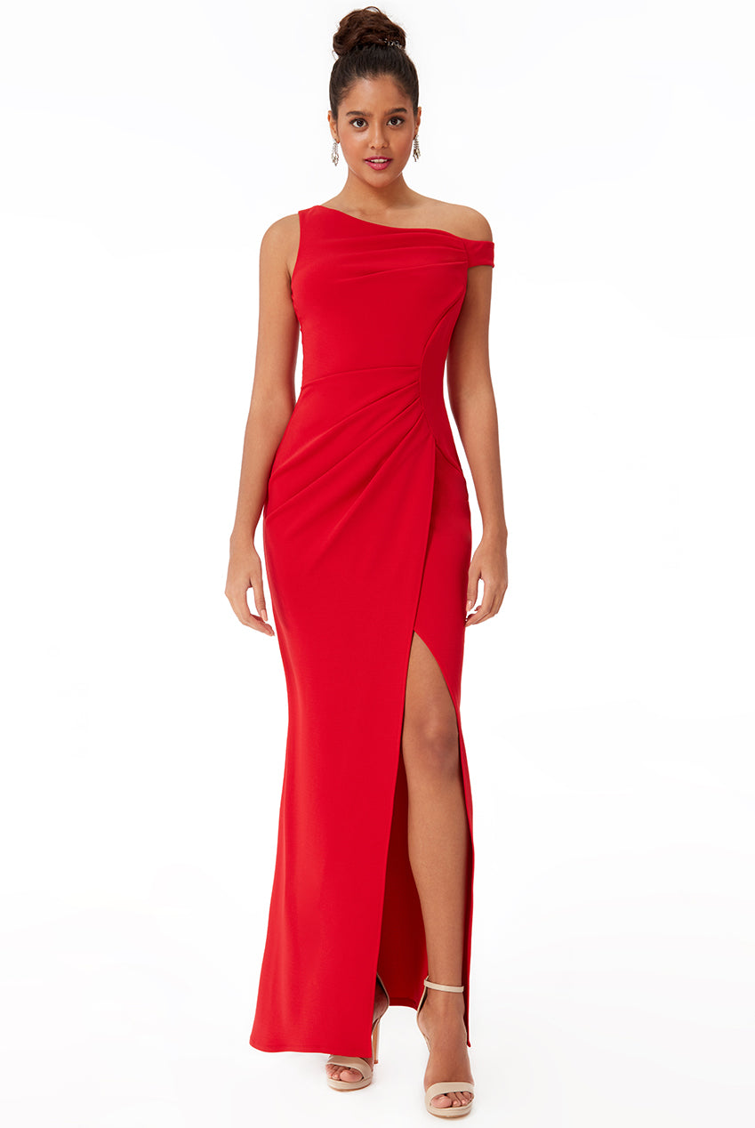 DIANA Evening Gown in red