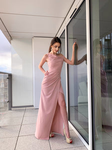DIANA Evening Gown in rose