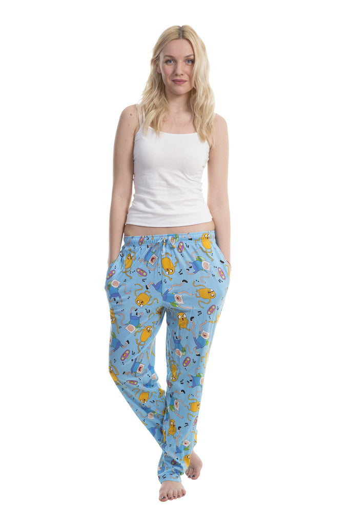Adventure Time Dance Jake N Finn Toss Sleep Lounge Pants