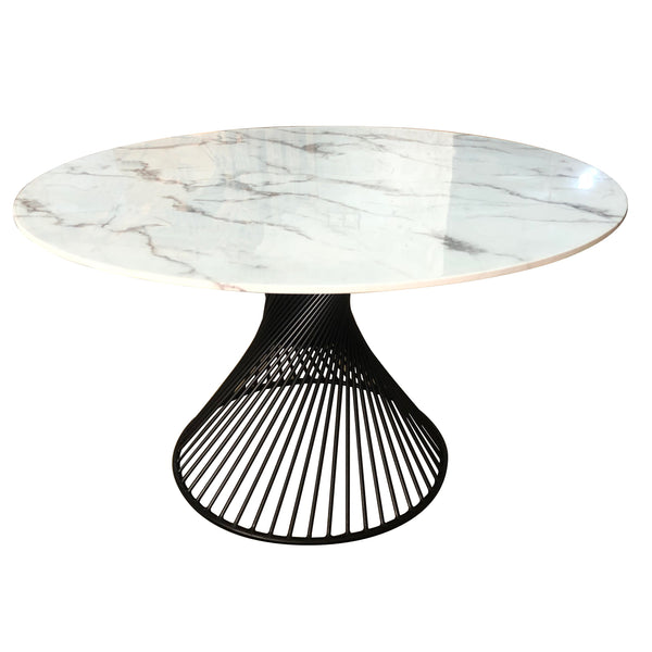 Twirl Dining Table Black