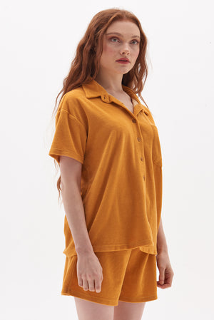 Recycled Towelling Shirt