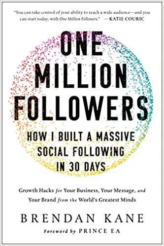 ספר הדרכה - One Million Followers: How I Built a Massive Social Following in 30 Days