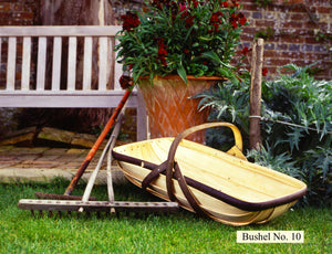Sussex Garden Trug No. 10 (full Bushel), made from traditional, sustainable materials in Herstmonceux