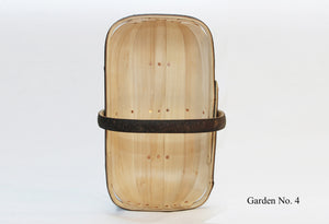 Sussex Garden Trug No. 4, top view, made from traditional, sustainable materials in Herstmonceux