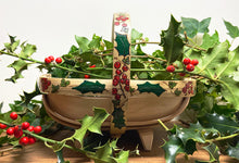 Load image into Gallery viewer, Festive Holly and Ivy Trug