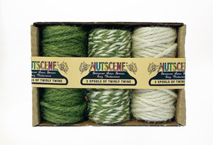 Three Spools of Tiny Twine Set
