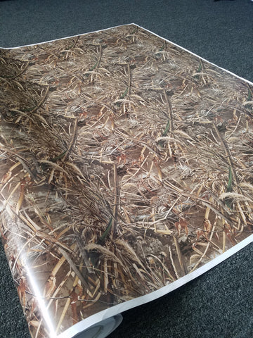 Long Grass Camo/ Camouflage Vinyl Wrap