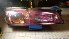Purple Chameleon Headlight Wrap