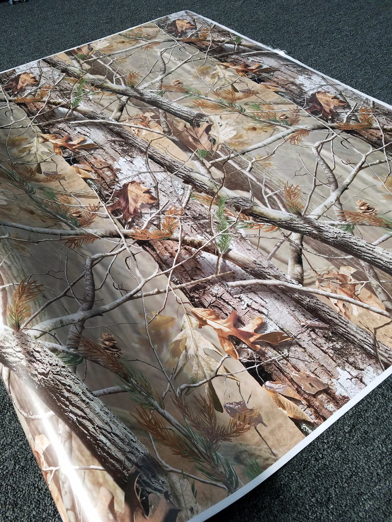 Tall Tree Camouflage Matte Vinyl Wrap