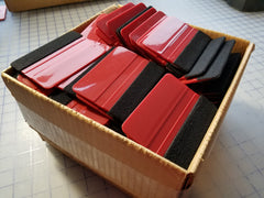 Bulk Premium Felted Application Squeegees
