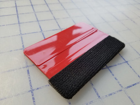 Premium Felted Application Squeegee