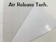Vinyl Wrap Air Release Tech