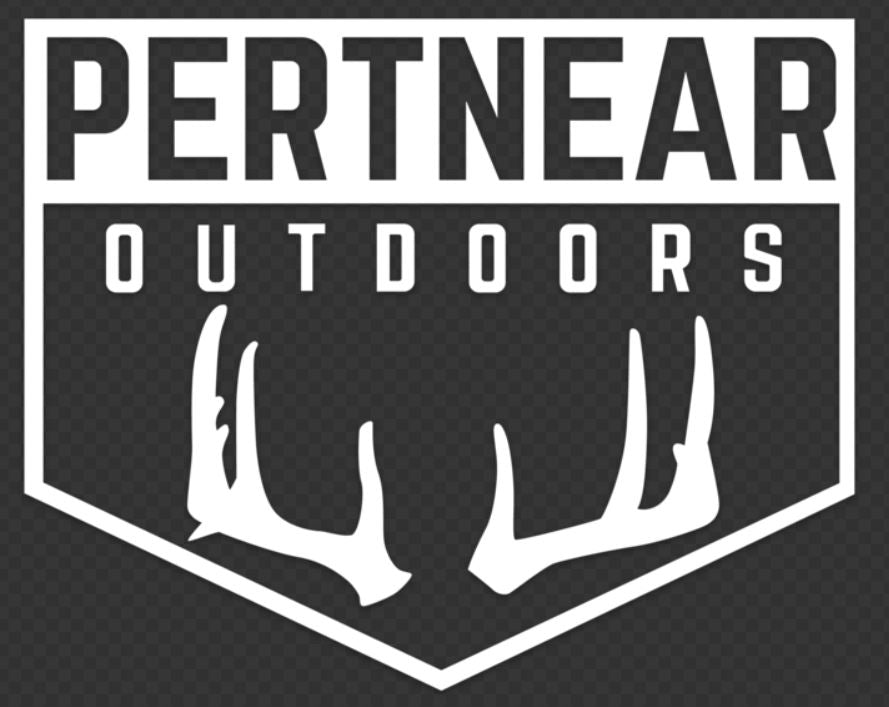 Pertnear Buck Badge Window Decal