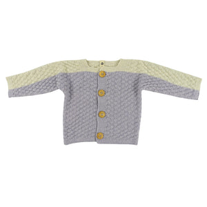 Square Stitch Cardigan - 5 Color Options