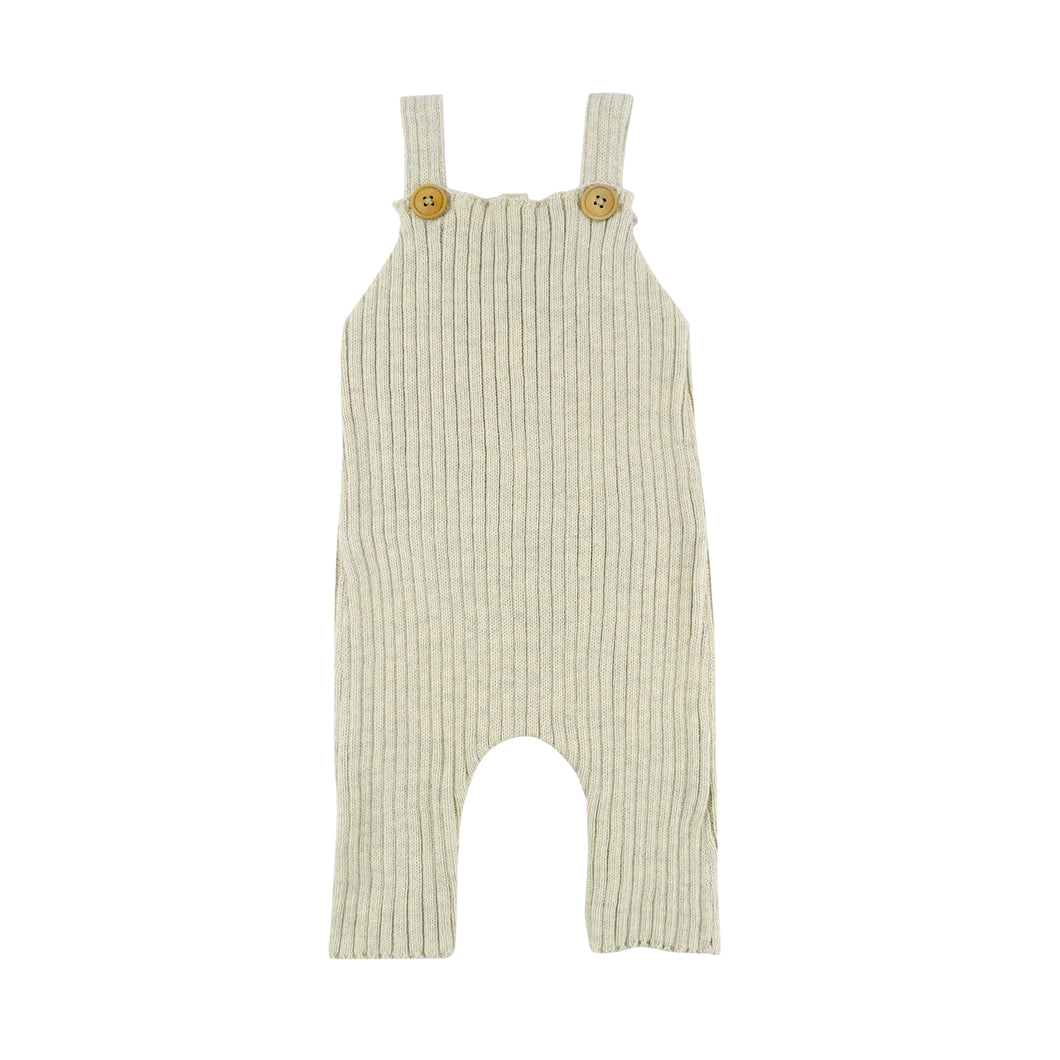 Ribbed Sloth Dungaree - 3 Color Options