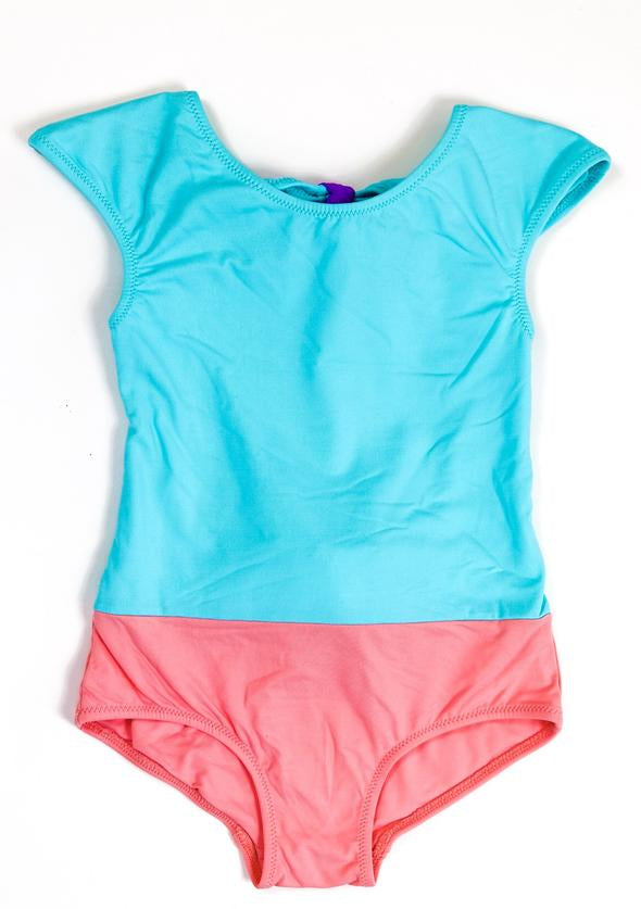 Cotton Candy One Piece Girl Bathing Suit