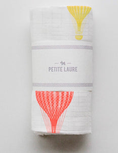 Baby Swaddle Multi-Color Hot Air Balloons