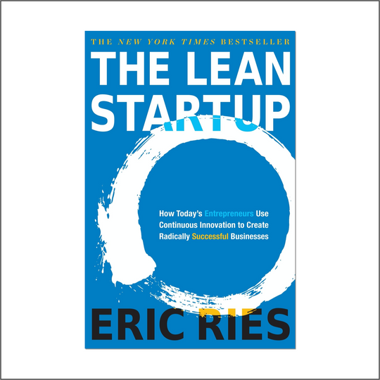 Mohit Kishore's top recommendation: The Lean Startup.