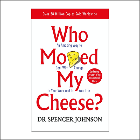 Mohit Kishore's top recommendation: Who Moved my Cheese?