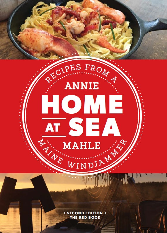 At Home, At Sea - Maine Cookbook