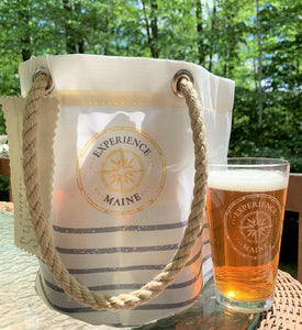 Sea Bags - Mariner Stripe Beverage Bucket