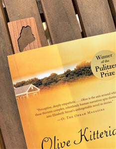 Experience Maine Cherrywood Bookmark