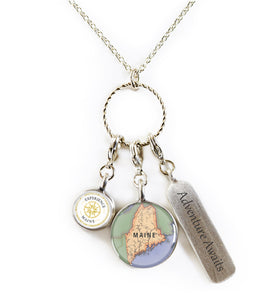 CHART Metalworks Custom Charm Necklace