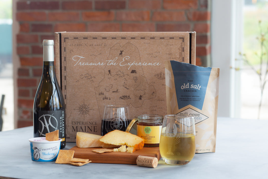 Maine Cheese & Wine Tasting Experience