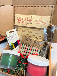 Maine Arts & Crafts Kids Holiday Gift Box