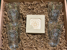 Load image into Gallery viewer, Pint Glass & Coaster Gift Set