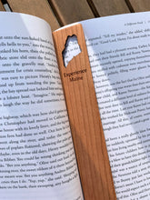 Load image into Gallery viewer, Experience Maine Cherrywood Bookmark