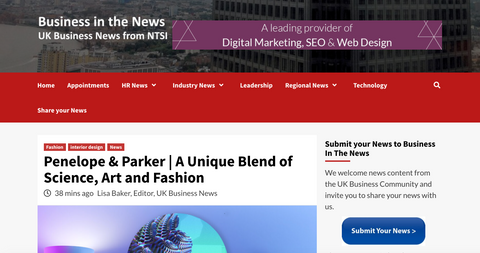Business In The News   The Science Behind The Art And Fashion Of Penelope And Parker