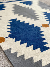 Load image into Gallery viewer, Blue Diamonds Rug