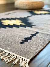 Load image into Gallery viewer, Grey Aztec Arrows Rug