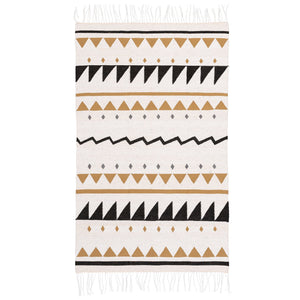 Neutral Triangles Rug